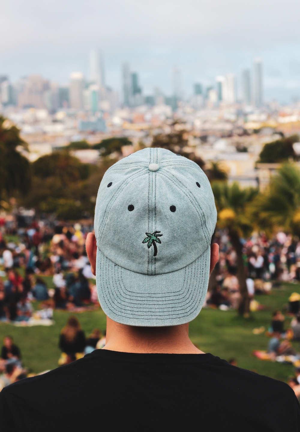 Mütze nach Haartransplantation