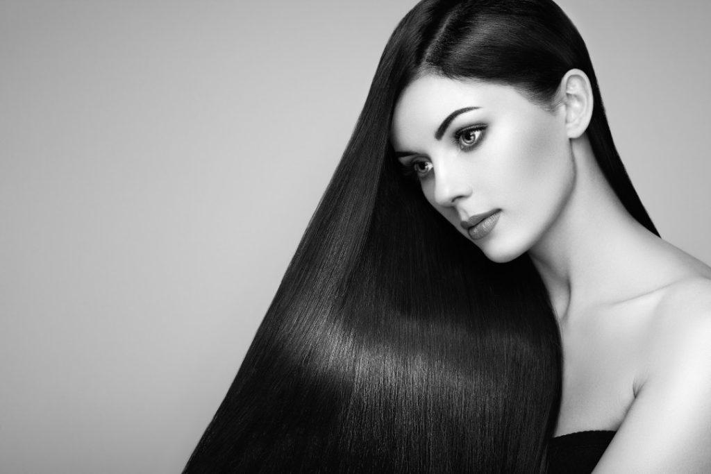 Haarlinie bei Frauen