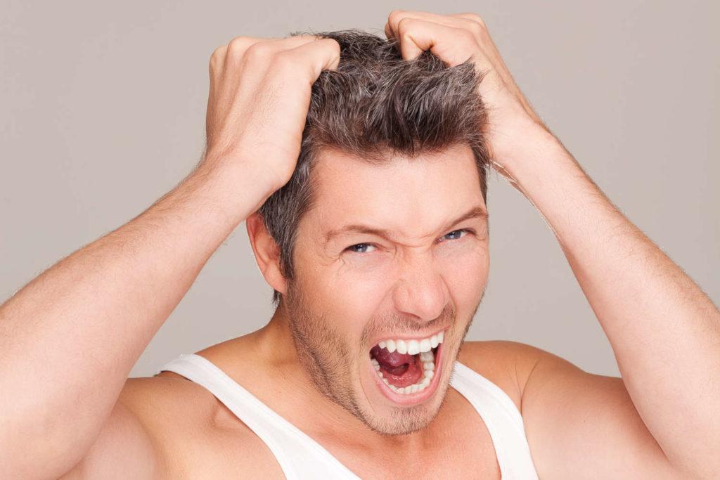 Shock Loss Haarausfall nach Haartransplantation