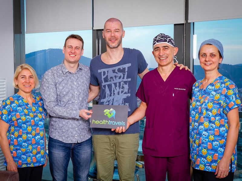 Haartransplantation in der Türkei mit Health Travels