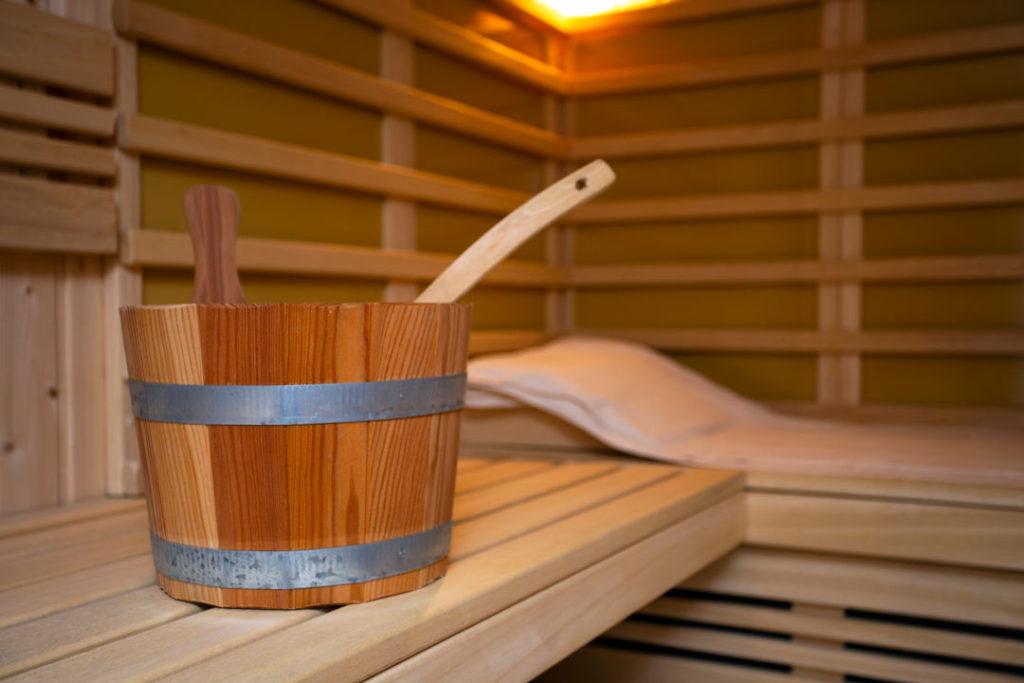 Solarium und Sauna nach Haarverpflanzung.
